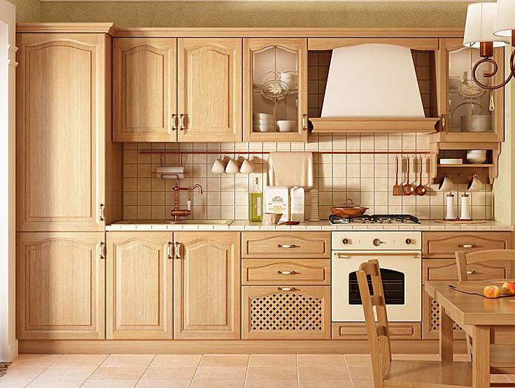 Кухни на заказ Киев классика