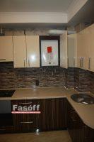 Кухня под заказ МДФ пленочный зебрано Мыла