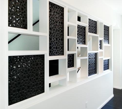 Мебель с фигурными решетками