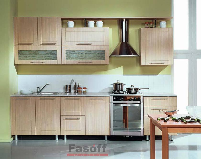 Кухня Агата простая кухня МДФ пленка