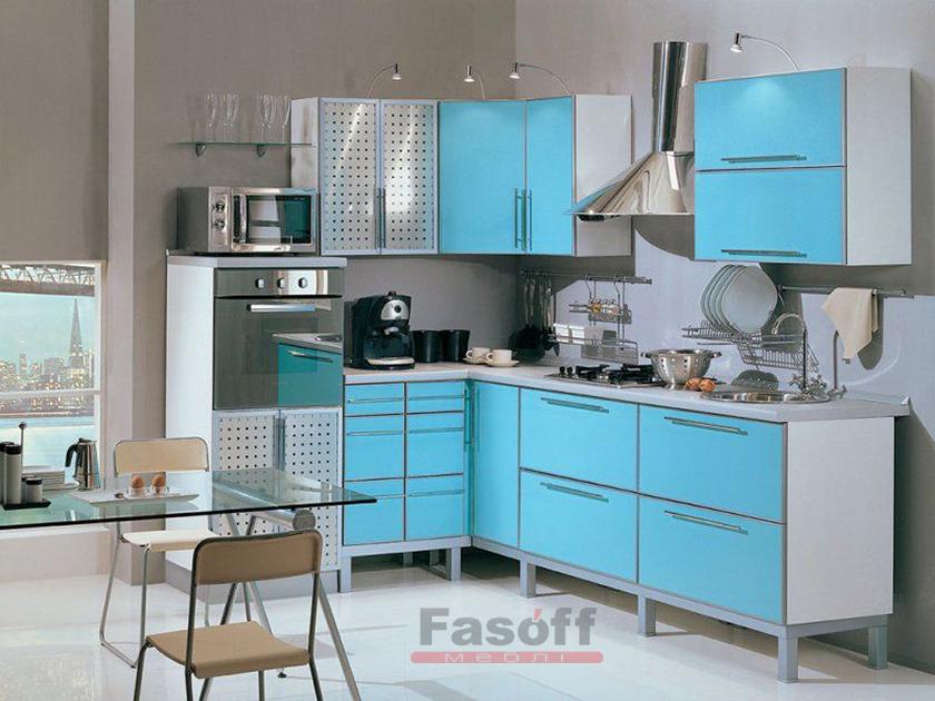 Кухня Голубая лагуна