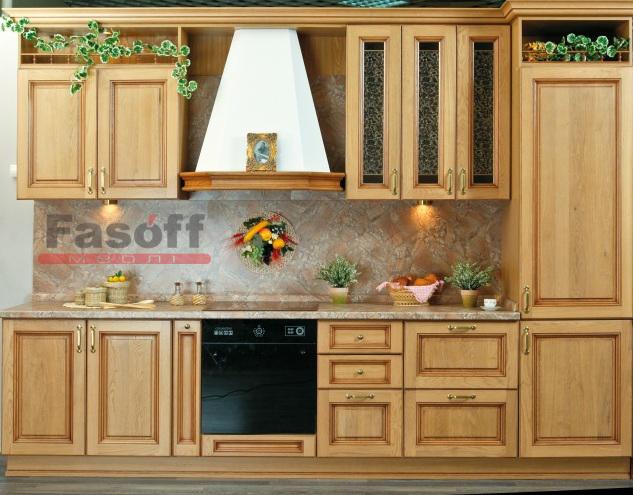 Кухня Татьяна VIP дуб классика