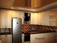 Натяжные потолки на кухне Киев
