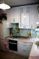 Кухня модерн белая глянцевая Киев