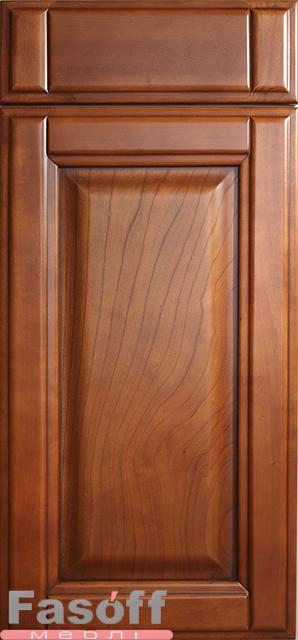 Деревяные фасады для кухонь Мила