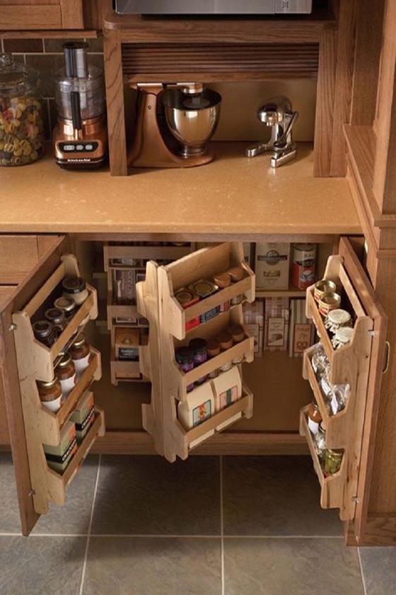 Хранилище мелочей на кухне