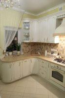 Классическая кухня с золотой патиной Киев
