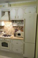 Классическая кухня со столешницей из исскуственного камня Ирпень