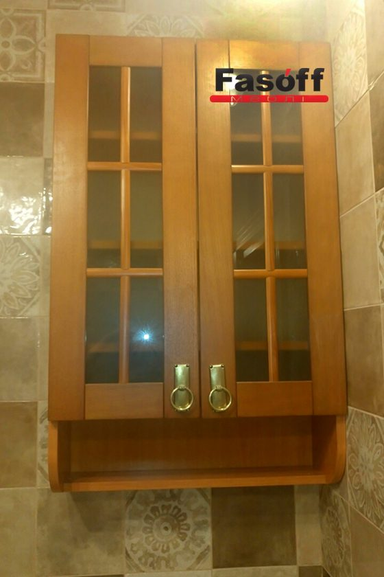 Шкаф под заказ с фасадом МДФ пленочный Edisan, корпус ДСП Свисс Кроно, фурнитура GTV Ирпень