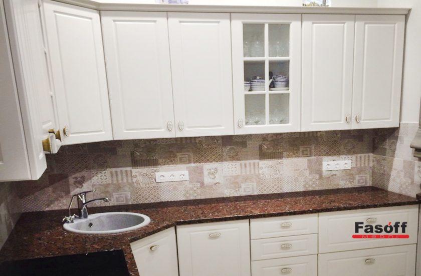 Кухня под заказ с крашеными, матовыми МДФ фасадами Болонья Киев