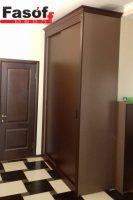 Купить шкаф с крашеными МДФ фасадами и раздвижной системой Слим Ирпень