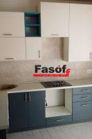 Кухня под заказ с фасадами МДФ крашеный и фурнитурой GTV Киев