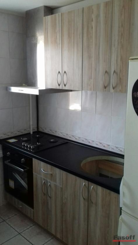 Кухня с фасадами пластик