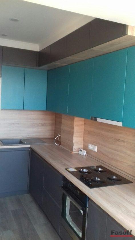 Дизайнерская кухня на заказ Алина