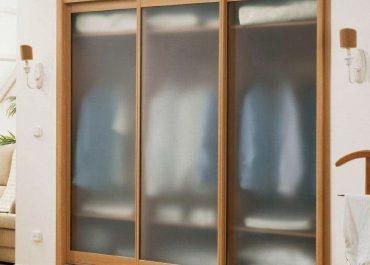 Шкаф-купе встроенный прозрачное стекло Киев