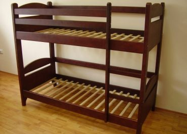 Кровать двухярусная без ящиков Киев