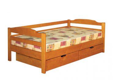 Кровать односпальная С ящиками К1