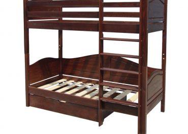 Кровать двухъярусная с ящиками 021