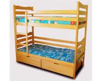 Кровать двухъярусная с ящиками Л16