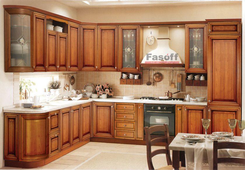 Кухня Франческа орех