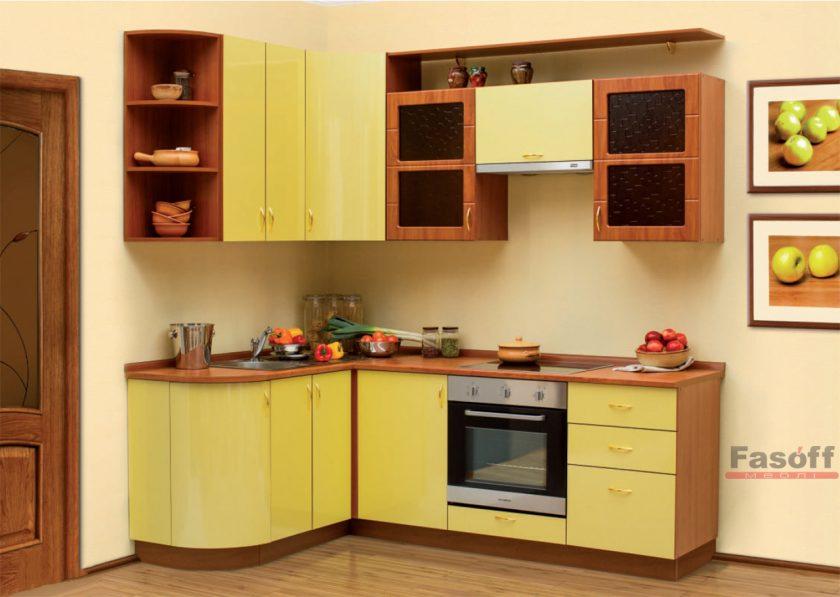 Кухня Груша желтая