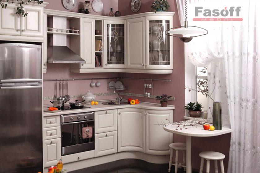 Кухня Мрия белая угловая