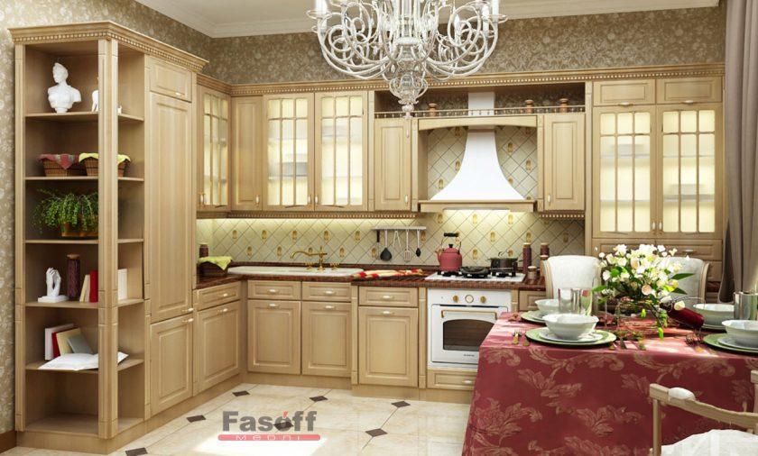 Кухня Паула классическая МДФ