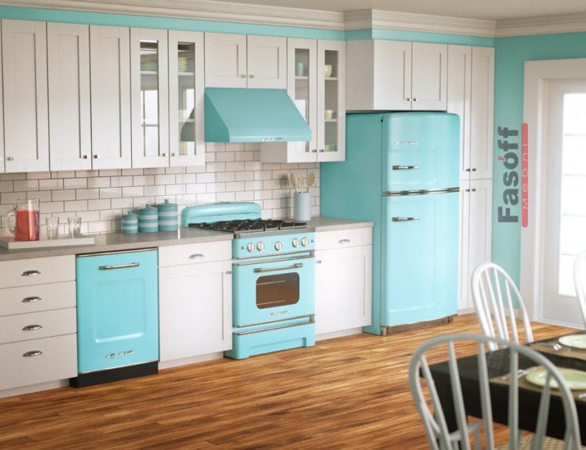 Кухня Винтаж в стиле прованс, ретро, винтажная белая кухня