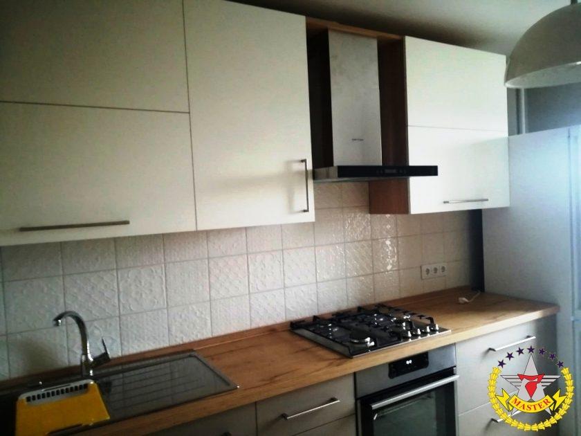 Кухня hpl панели Fenix на заказ