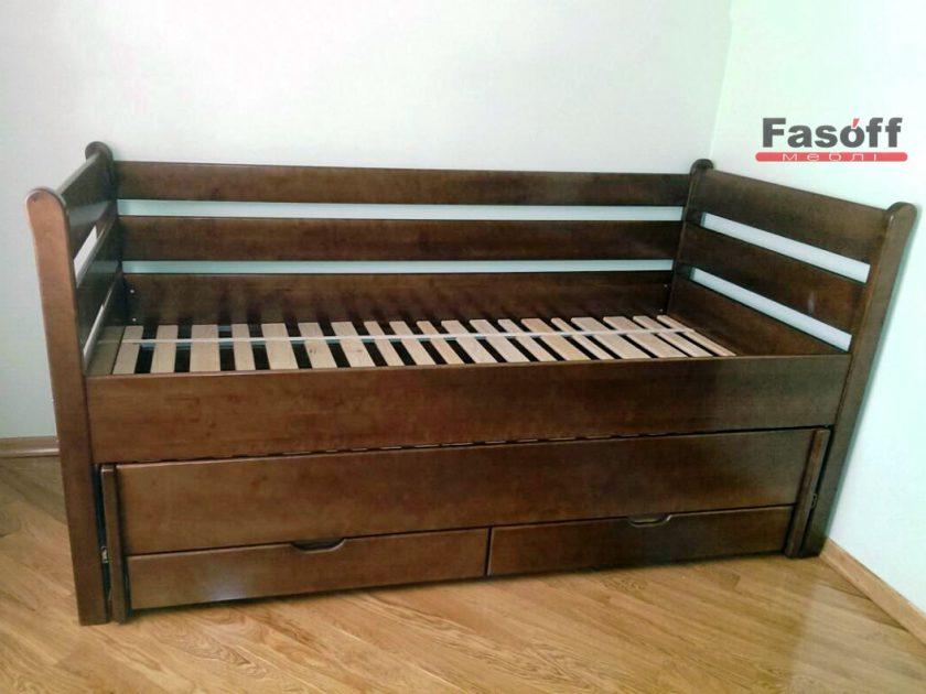 Купить кровать трансформер Киев с полками