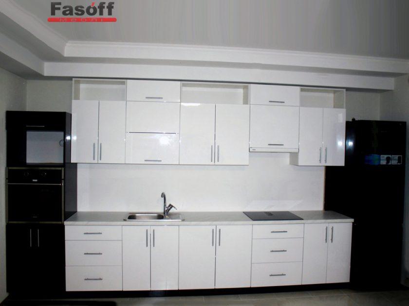 Кухня белая глянцевая модерн Киев