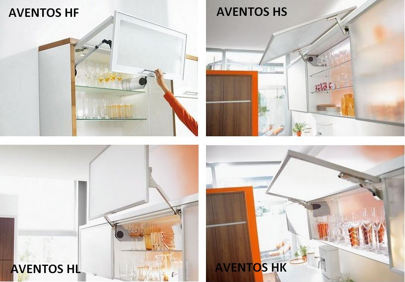Подьемный механизм Aventos (Blum)