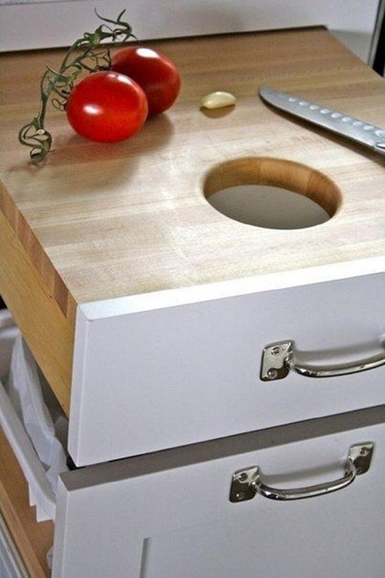 Организация рабочей поверхности кухни