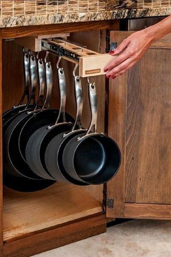 Организация рабочего пространства на кухне