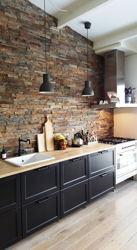 кухня в стиле ЛОФТ LOFT