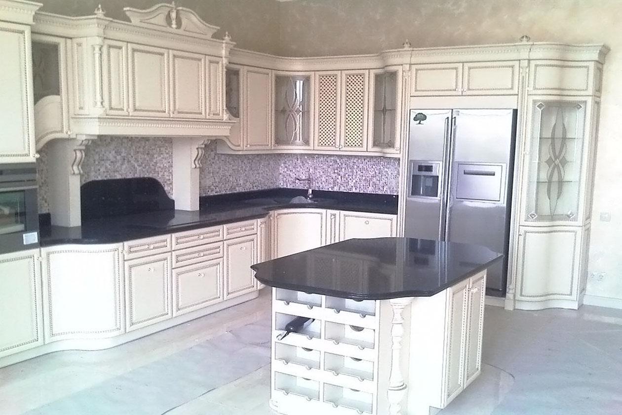 Кухня со столешницей с натурального камня купить Кухня со столешницей с натурального камня купить Коцюбинське