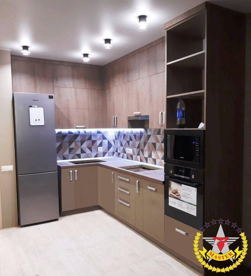 Кухня под заказ ЛОФТ Киев