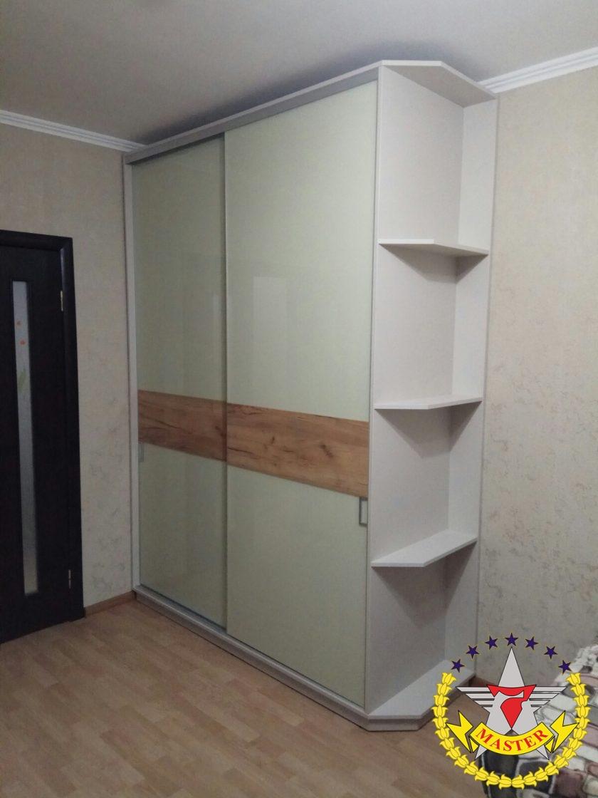 шкаф-купе на заказ со вставками
