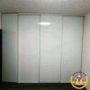 шкаф-купе на заказ белый глянец стекло