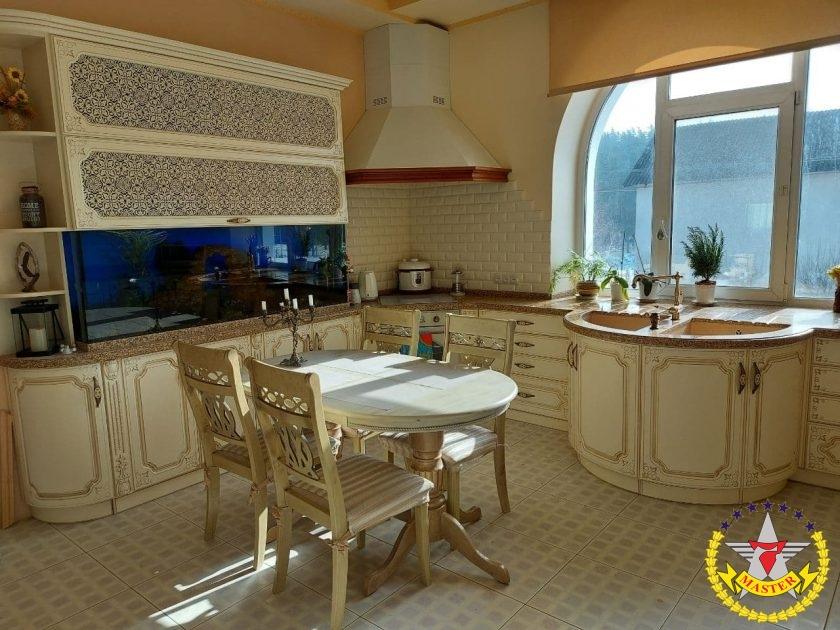 Кухня прованс Николай и Мария